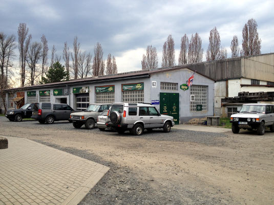 Servis Land Rover, diagnostika Land Rover